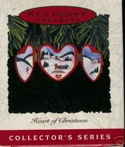 "Hallmark 1993 ""Heart of Christmas"" Ornament - $6.95"