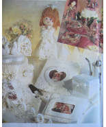 Simplicity 7086 New Craft Pattern Bridal Accessories Doll Photo Album - $6.95