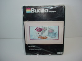 Bucilla Stitchery Needlecraft Kit Cross Stitch Needlepoint Once Upon a Time - $19.70