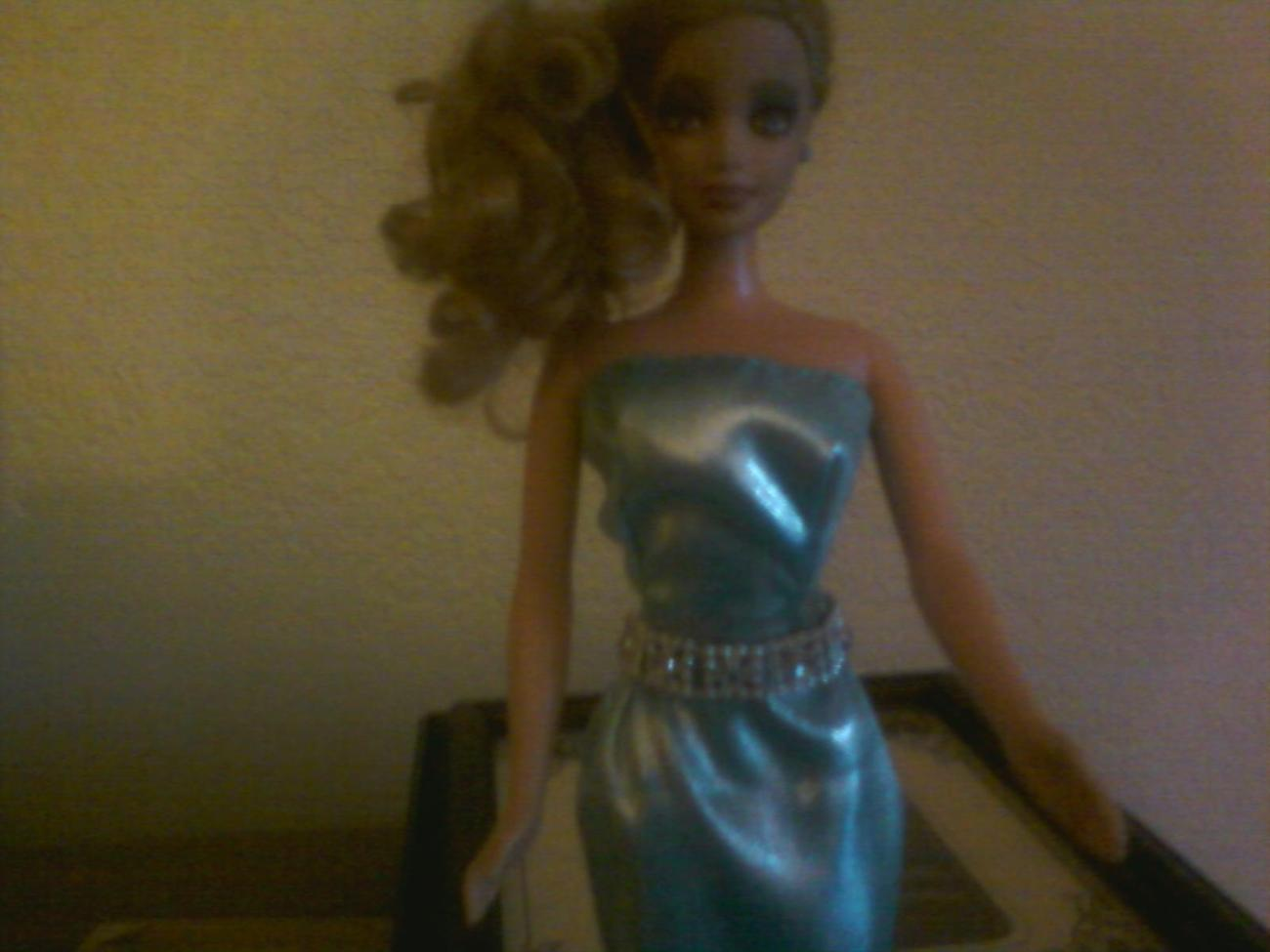 Night on the town-OOAK dress for Barbie