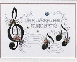 Music Speaks L164 cross stitch chart Stoney Creek image 2