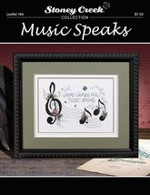 Music Speaks L164 cross stitch chart Stoney Creek image 3