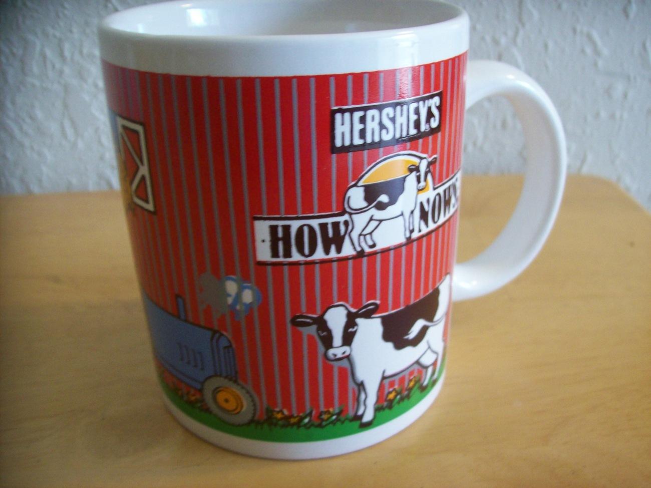 Hershey's Chocolate How Nows Cow Coffee Mug