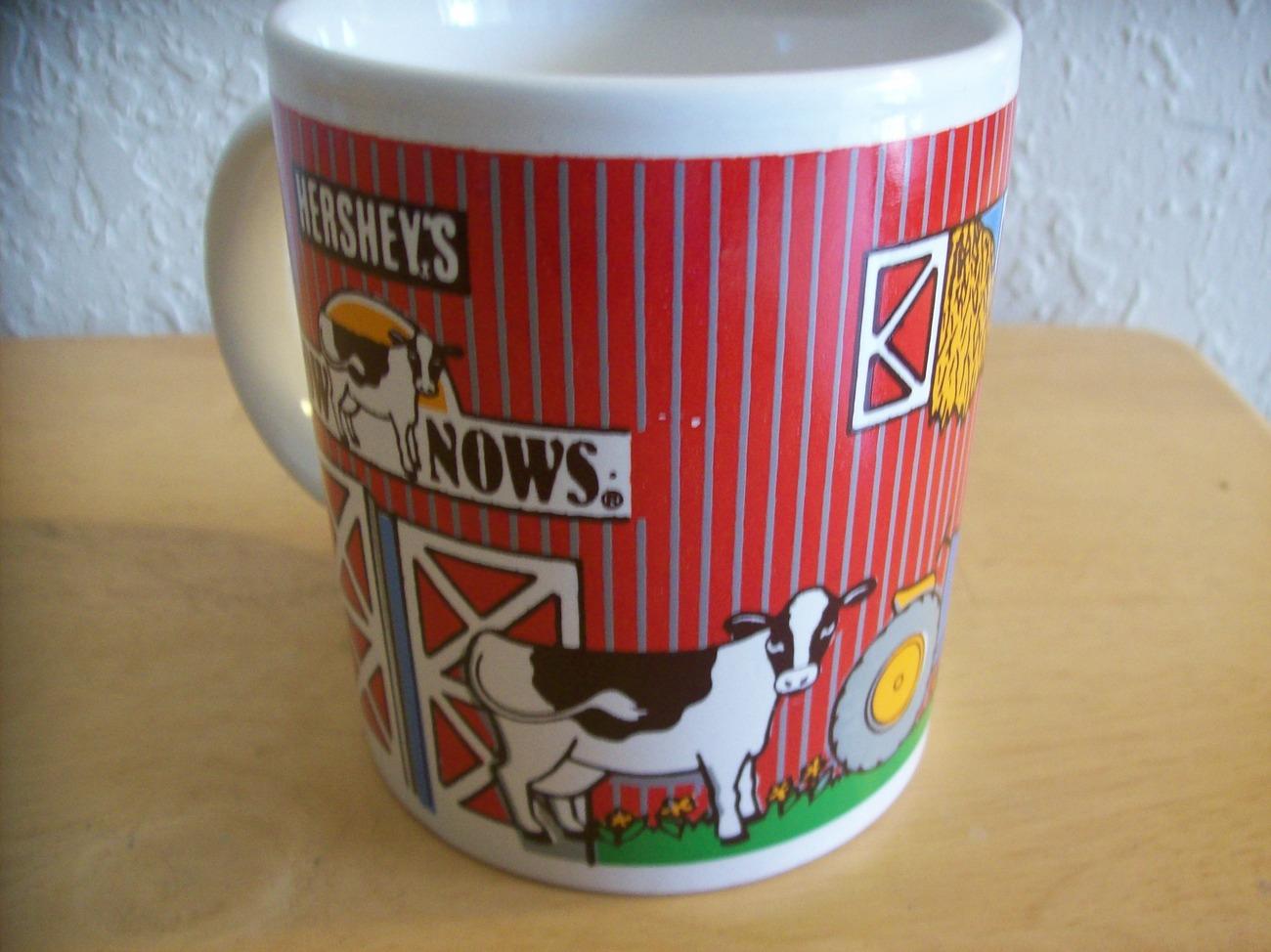 Hershey's Chocolate How Nows Cow Coffee Mug  image 2