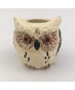 Vintage Owl Toothpick Holder Ceramic Made In Japan - $13.98