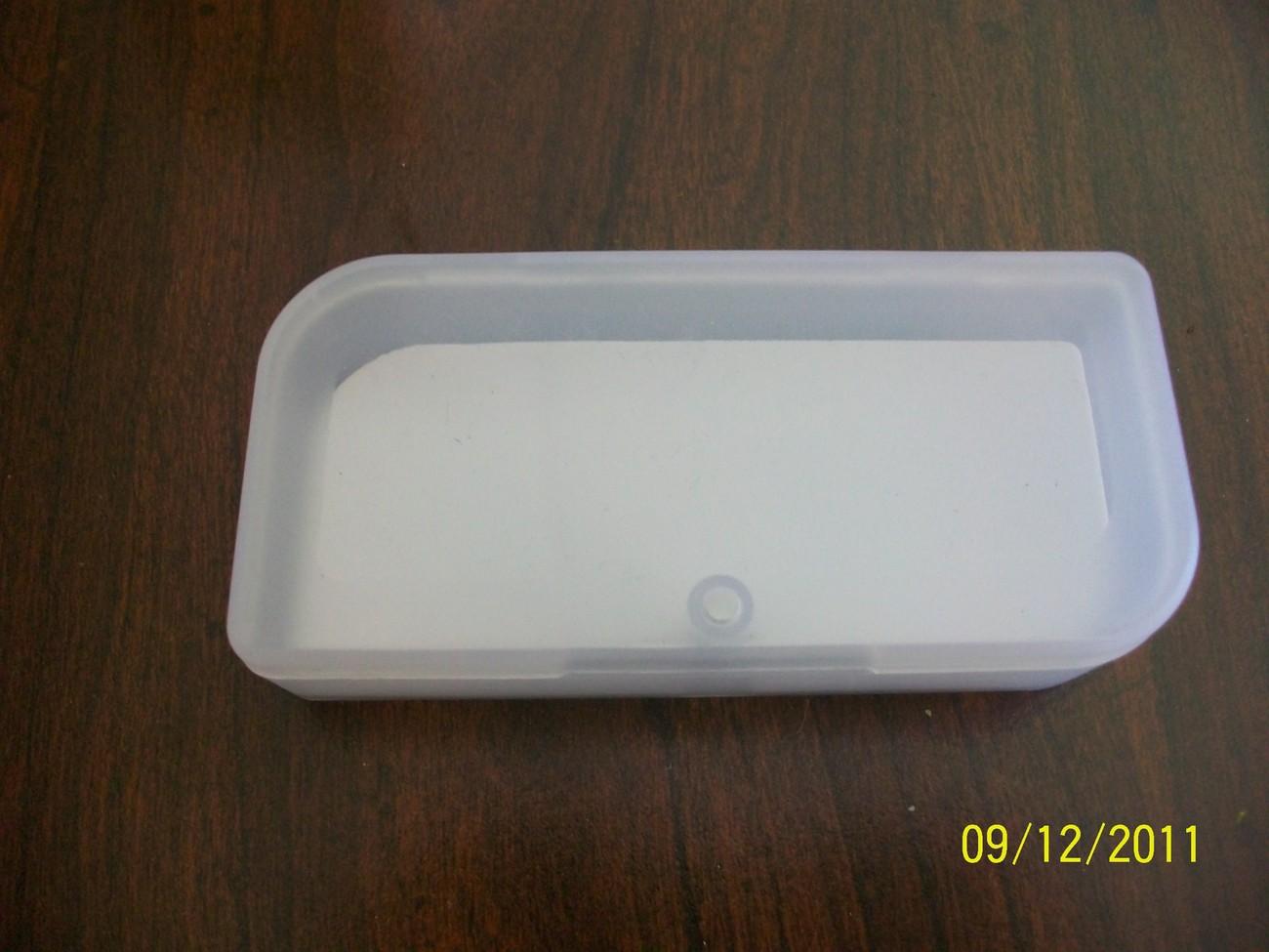 Brand new Clear plastic USB storage box holder