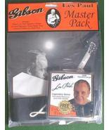 LES PAUL GUITAR STRAP STRINGS PICKS GIBSON MASTER PACK - $49.98
