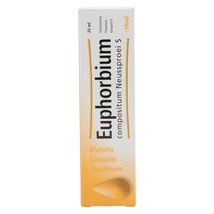 Euphorbium Sinus Relief Spray Blocked Nose Rhinitis Sinusitis Homeopathi... - $15.97