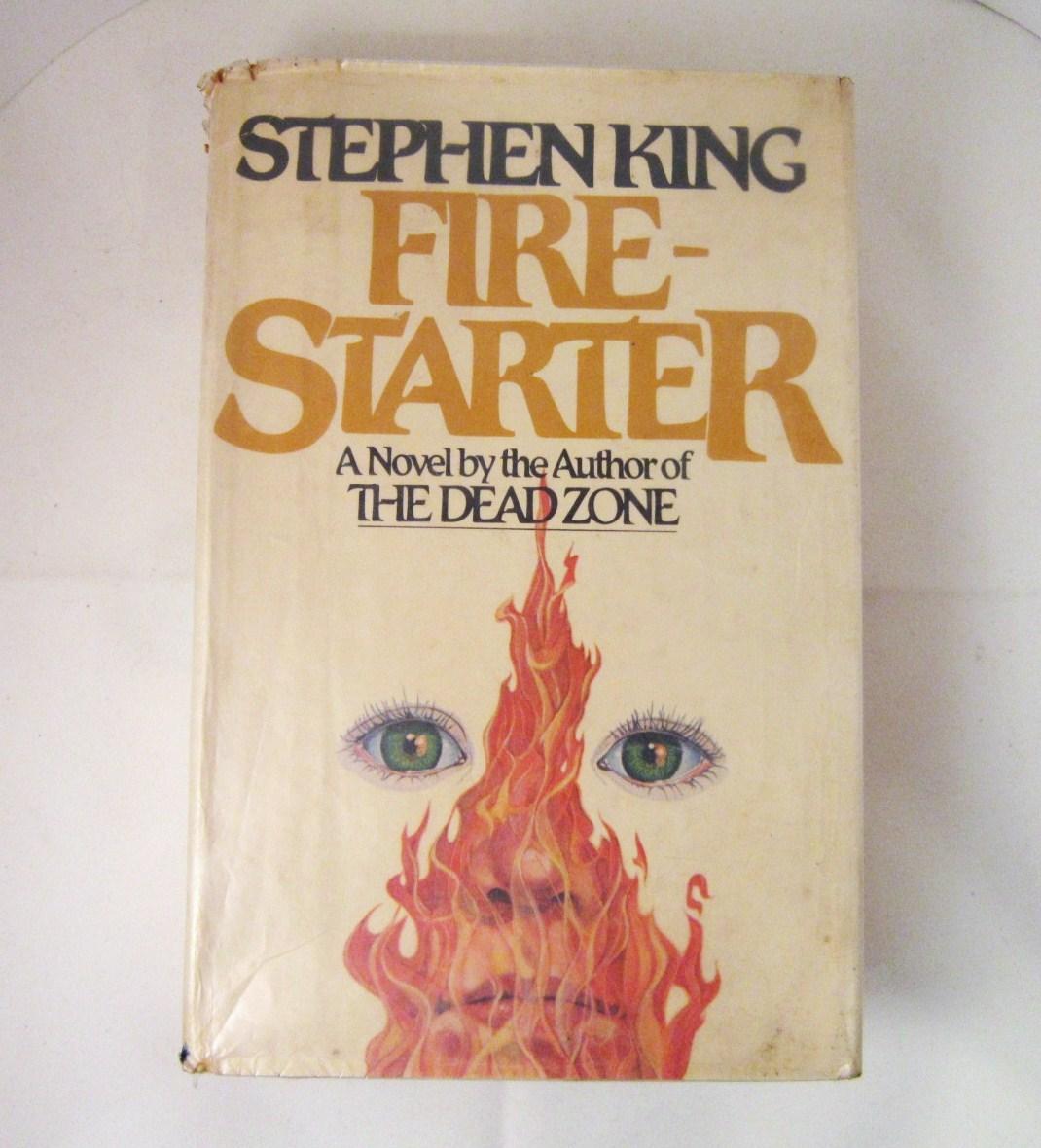 Fire Starter 1980 Stephen King horror novel