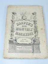 1867 A CALIFORNIAN CARAVANSARY illustrations Harper's Monthly April 203 - $22.49