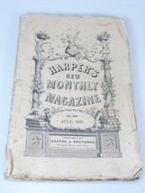 1867 INDEPENDENCE HALL DAY signers illustrations Harper's Monthly July 206 - $22.49