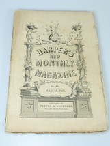 1867 TWO HUNDRED THOUSAND SPIDERS illustrations Harper's Monthly March 202 - $22.49