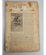 1878 ALONG OUR JERSEY SHORE New Jersey illustrated Harper's Monthly Febr... - $19.99