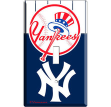Baseball Mlb New York Yankees Single Light Switch Plate Game Tv Room Decoration - $8.99