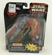 Deluxe Darth Maul Action Figure Lightsaber Star Wars Episode 1 Hasbro 1998 - $13.81
