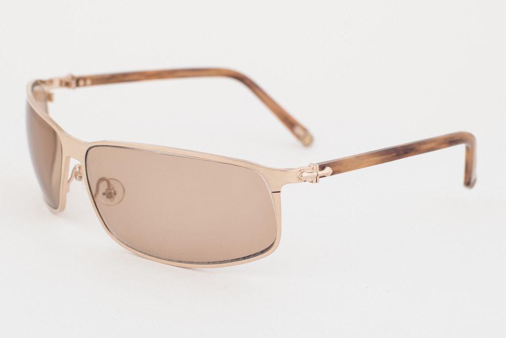 MATSUDA Gold Brown / Brown Sunglasses 10682 BCG