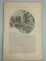 1878 ARKANSAS HOT SPRINGS - illustrations Harper's Monthly January 332 - $19.99