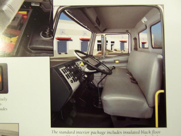 1994 Freightliner FL Series Business Class Tractors and Trucks Color Brochure