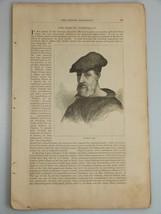 1878 FIESCHI CONSPIRACY Genoa Doria Family DOGE Harper's Monthly Feb 333 - $19.99