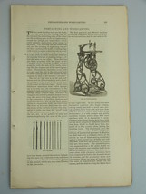 1878 FRETSAWING WOOD CARVING illustrations CABI... - $19.99