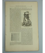 1878 FRETSAWING WOOD CARVING illustrations CABINETRY Harper's Monthly Ma... - $19.99