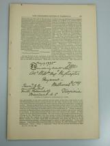 1878 GEORGE WASHINGTON UNPUBLISHED LETTERS facsimiles Harper's Monthly M... - $19.99