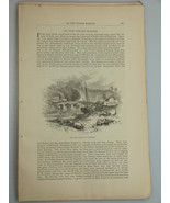 1878 HISTORIC WALES CASTLES and CATHEDRALS illust. Harper's Monthly Janu... - $19.99