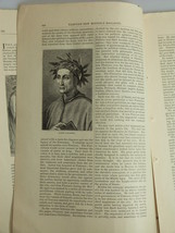 1878 ITALIAN POETS – DANTE – PETRARCH – ARIOSTO - TASSO Harper's Monthly... - $19.99