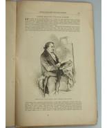 1878 JOSEPH MALLORD WILLIAM TURNER painter illust. Harper's Monthly Febr... - $19.99