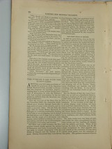 1878 TURKISH WARS WITH HOSPITALERS Knights Malta Harper's Monthly Februa... - $19.99