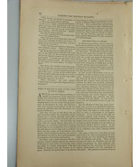 1878 TURKISH WARS WITH HOSPITALERS Knights Malta Harper's Monthly Februa... - $19.99