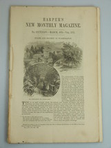 1878 WASHINGTON D.C. SOCIETY illustrations STATE DEPT Harper's Monthly M... - $19.99