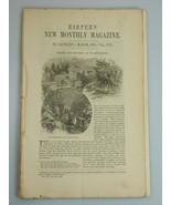 1878 WASHINGTON D.C. SOCIETY illustrations STATE DEPT Harper's Monthly M... - $19.99