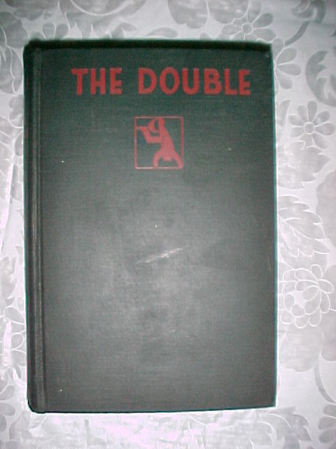 THE DOUBLE-EDGAR WALLACE,COLLIER, CRIME CLUB ED.1928 HC;DETECTIVE MYSTERY THRILL