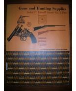 1890's Illustrated Firearm Catalog John P. Lovell Arms - $39.99