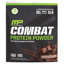 MusclePharm Combat Protein Powder Chocolate Milk Flavor 6 Lbs-1-2024 (Pa... - $183.14