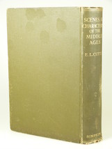 1926 Rev. Cutts SCENES CHARACTERS in MIDDLE AGES HB 180+ illustrations - $49.50