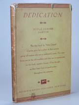 1928 Viola Gerard Garvin DEDICATION 1st Edition author's first book poet... - $19.99