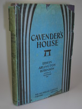 1929 Edwin Arlington Robinson CAVENDER'S HOUSE 1st edition poetry - $44.99