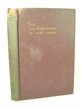 1933 Hart Crane SELECTED POEMS 1st edition poetry HC - $124.99