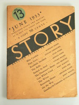 1933 Story Magazine June short story - $14.99