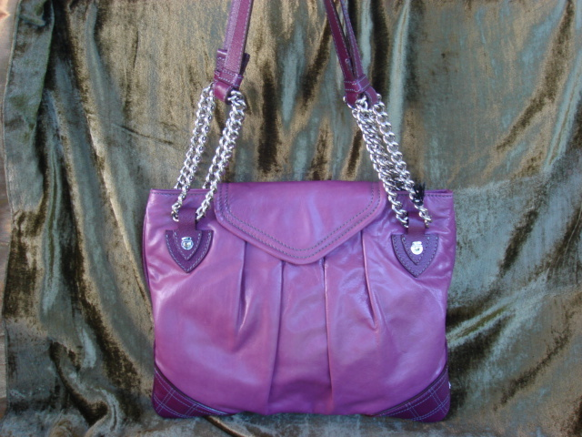 Marc Jacobs Rosen Lavender Leather $1,000+