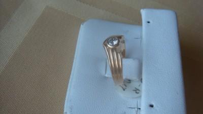 14K Yellow Gold Diamond Ring~Brand New
