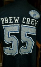 Football Budweiser Plus 2 XL Bud Lite Beer SHIRT Tee 55 H3 Sportswear Br... - $9.69