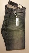 NEW Men's DIESEL Darron Jeans Slim-Taper Denim 0RZ31 33 x 32  Made In USA - $79.94