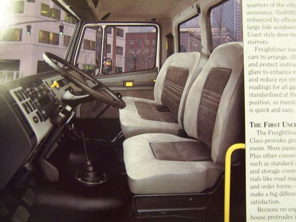 1991 Freightliner FL Series Business Class Tractors and Trucks Color Brochure