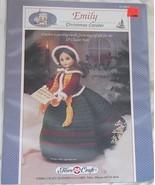 Fibre Craft's Emily Christmas Caroler Crochet Pattern - $6.75