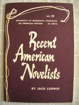 1962 Recent Novelists- Pamphlets on American Writers #22 Lit Criticism S... - $19.99