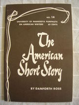 1963 American Short Story - Pamphlets on Americ... - $19.99