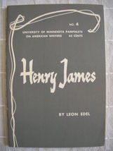 1963 Henry James - Pamphlets on American Writers #4 Lit Criticism - $19.99
